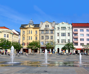 Main Square, Ostrava, Czech republic