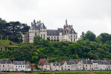 Chaumont-sur-Loire castle. Loire Valley