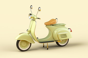 Retro scooter