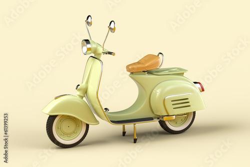Retro scooter - 61399253