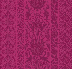 wedding card design, paisley floral design , India