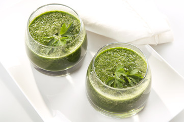 Spinach cocktail