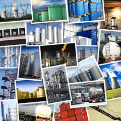 cartoline industria collage