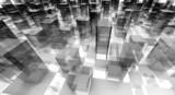 abstract blocks city - 61400695