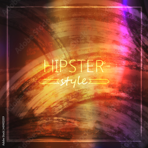 abstract grunge background for design. hipster style