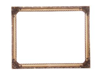 Ornate antique gold gilt frame
