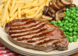 Sirloin Beef Steak with Fries