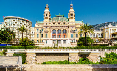 View of The Monte-Carlo Casino and Opera House, Monaco