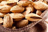 Almond; group of nuts in kernel