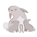 Cute rabbit - 61403652