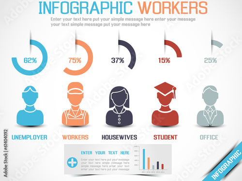 INFOGRAPHIC WORKERS