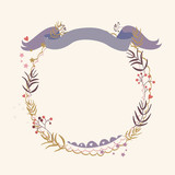 Floral Holiday Design - 61404887