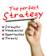 The perfect strategy plan using a checklist.