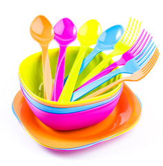 Color tableware