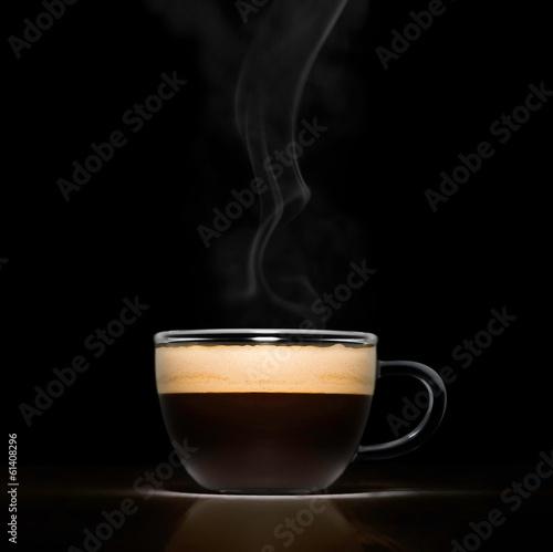 Fotobehang Cafe Espresso cup