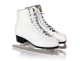 Fototapety Figure skates isolated on white background