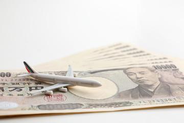 お金と飛行機