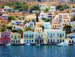 Greece icon - Symi island