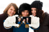 Girlfriends Selfies poster