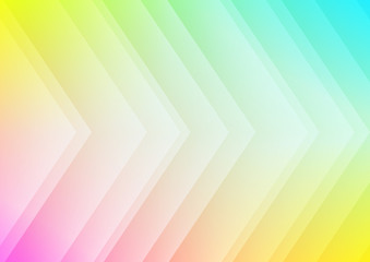 Abstract colored arrows background