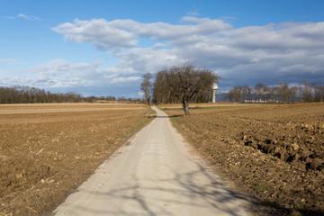 Chemin vers l'horizon infini