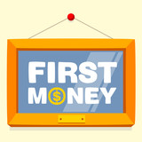 text first money frame