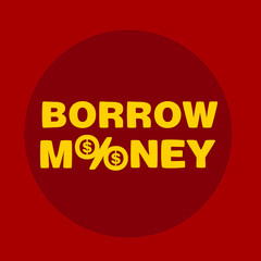 text borrow money