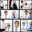 Business people composition