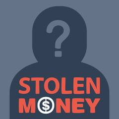 text stolen money