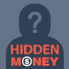 text hidden money