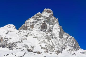 Monte Cervino in inverno - 4.478 m.s.l.m.