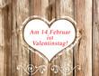 14.Februar ist Valentinstag