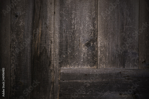 Wooden Dark Wall