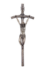 The Bent Cross Crucifix, that was using Pope John Paul II