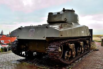 tank uit de Tweede Wereldoorlog