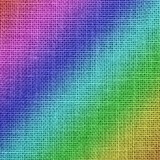 Rainbow colors Jute background