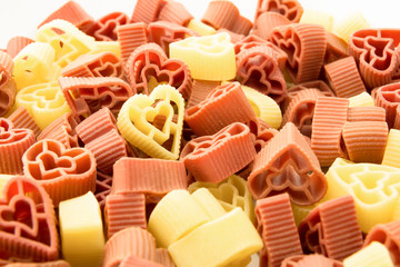 heart shaped pasta