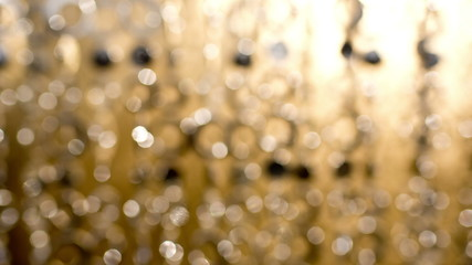 abstract sparkling curtain background