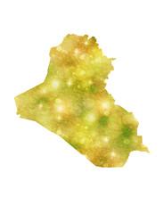 イラク 地図 国