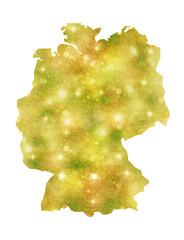 ドイツ 地図 国
