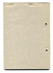 Vintage Backside Paperblock