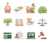 Finance, Business and Savings - Harmony Icon Set 03