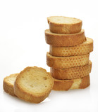 Pile Of Bread Rusks