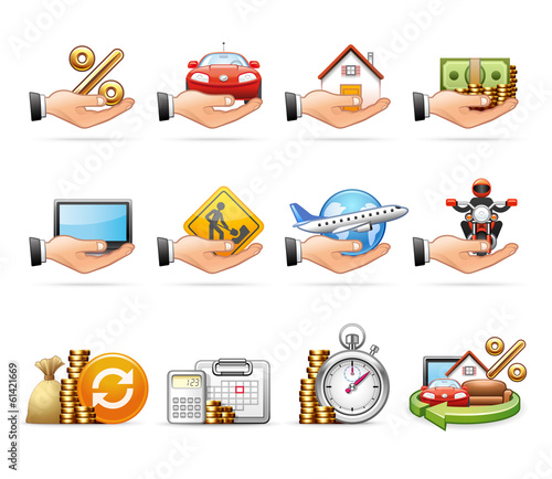 Loan and Credit - Harmony Icon Set 07