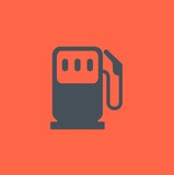 Transportation Flat Icon. Vector Pictogram. EPS 10.
