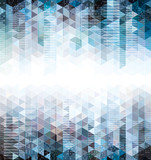 Abstract urban geometric background with copy space.