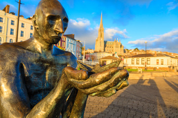 """The Navigator"" statue in Cobh Ireland"