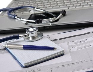 A doctor's workplace