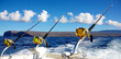 Deep sea fishing in Hawaii - 61424457