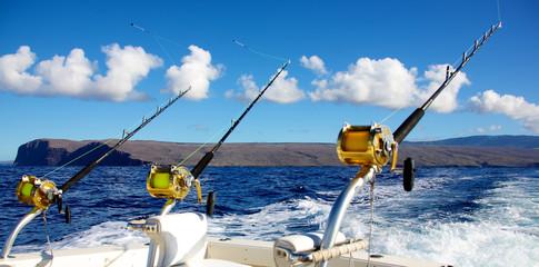 Deep sea fishing in Hawaii
